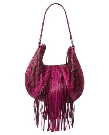 python leather bag Liana Camba