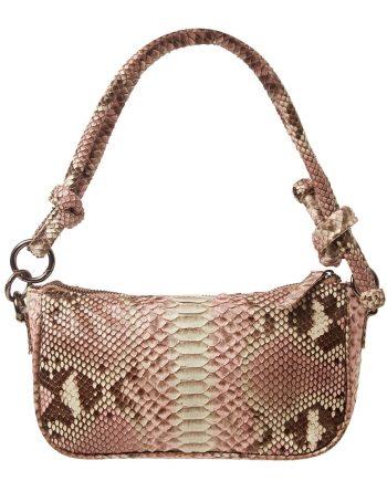pink python bag Liana Camba